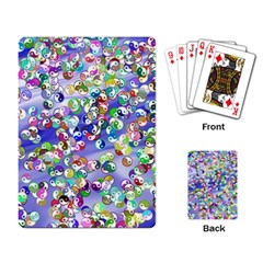 Ying Yang Playing Cards Single Design