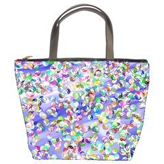Ying Yang Bucket Bag