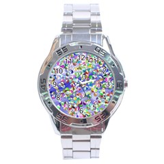 Ying Yang Stainless Steel Watch (Men s)