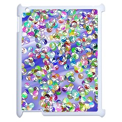 Ying Yang Apple iPad 2 Case (White)