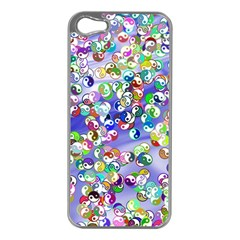 Ying Yang Apple iPhone 5 Case (Silver)