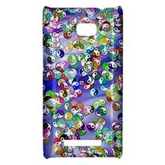 Ying Yang HTC 8X Hardshell Case