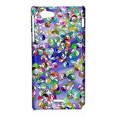 Ying Yang Sony Xperia J Hardshell Case