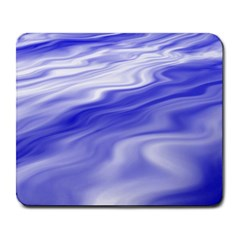 Wave Large Mouse Pad (Rectangle)