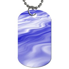 Wave Dog Tag (One Sided)