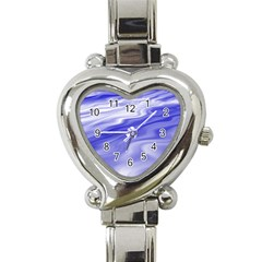Wave Heart Italian Charm Watch