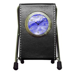 Wave Stationery Holder Clock