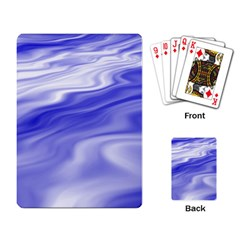 Wave Playing Cards Single Design