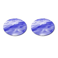 Wave Cufflinks (Oval)