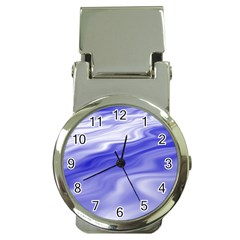 Wave Money Clip With Watch