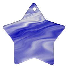 Wave Star Ornament (Two Sides)