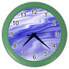 Wave Wall Clock (color)