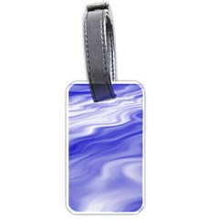 Wave Luggage Tag (One Side)
