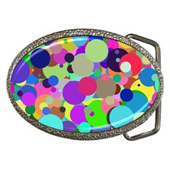 Balls Belt Buckle (Oval)