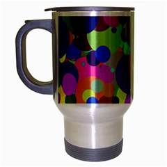 Balls Travel Mug (Silver Gray)