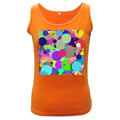Balls Womens  Tank Top (Dark Colored)
