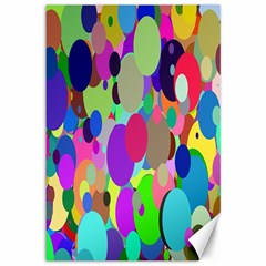 Balls Canvas 12  X 18  (unframed)