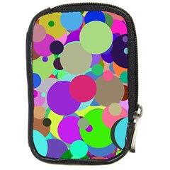 Balls Compact Camera Leather Case