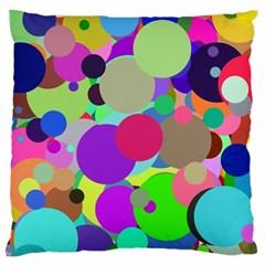 Balls Large Cushion Case (Single Sided)