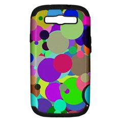 Balls Samsung Galaxy S III Hardshell Case (PC+Silicone)