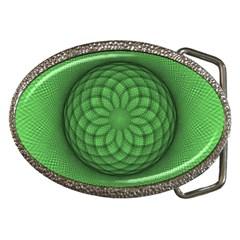Design Belt Buckle (Oval)