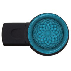 Spirograph 2GB USB Flash Drive (Round)