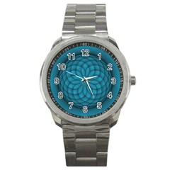 Spirograph Sport Metal Watch