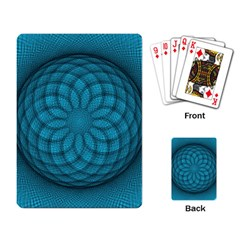Spirograph Playing Cards Single Design