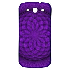 Spirograph Samsung Galaxy S3 S III Classic Hardshell Back Case