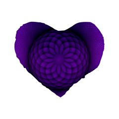 Spirograph 16  Premium Heart Shape Cushion