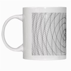 Spirograph White Coffee Mug