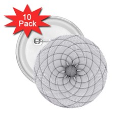 Spirograph 2.25  Button (10 pack)