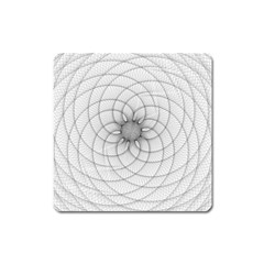 Spirograph Magnet (square)