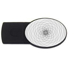 Spirograph 1GB USB Flash Drive (Oval)