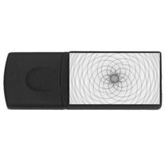 Spirograph 2GB USB Flash Drive (Rectangle)