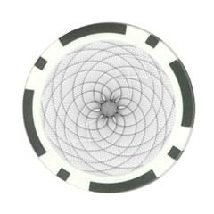 Spirograph Poker Chip (10 Pack)