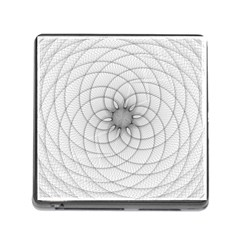 Spirograph Memory Card Reader with Storage (Square)