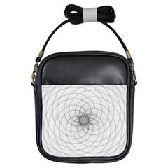 Spirograph Girl s Sling Bag