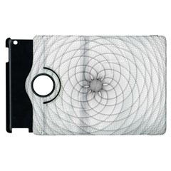 Spirograph Apple iPad 3/4 Flip 360 Case