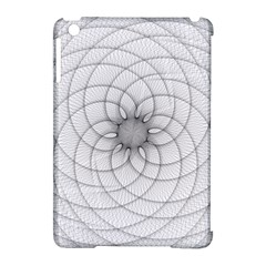 Spirograph Apple iPad Mini Hardshell Case (Compatible with Smart Cover)