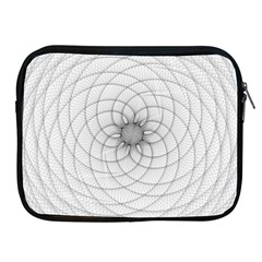 Spirograph Apple iPad 2/3/4 Zipper Case