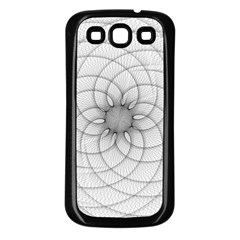 Spirograph Samsung Galaxy S3 Back Case (Black)