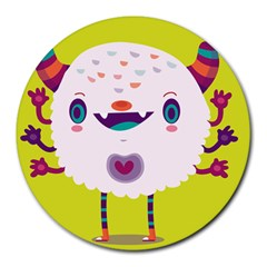 Moshi 8  Mouse Pad (Round)