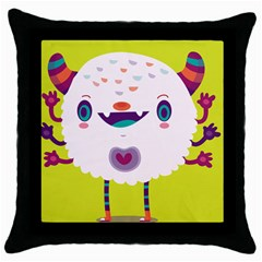 Moshi Black Throw Pillow Case