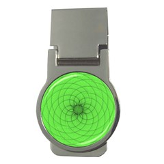 Spirograph Money Clip (round)