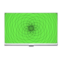 Spirograph Business Card Holder