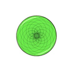 Spirograph Golf Ball Marker (for Hat Clip)