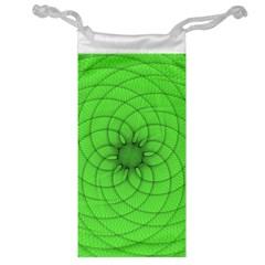 Spirograph Jewelry Bag
