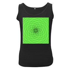 Spirograph Womens  Tank Top (black)