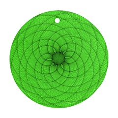 Spirograph Round Ornament (Two Sides)